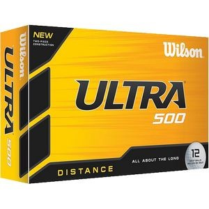 Wilson® Ultra® Golf Ball 500 Distance