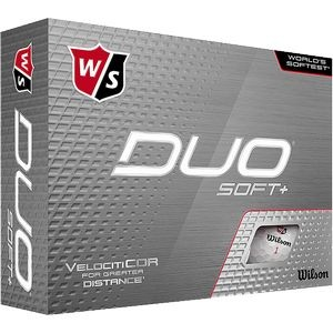 Wilson Staff® Duo® Soft+ Golf Ball (IN HOUSE)